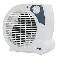 Тепловентилятор для дома напольный Rotex RAS07-H белый (2000 Вт,20 м2,2 режима,пластик)(Гарантия 12 мес)