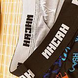 Мужские трусы боксеры  ,,Инсан ,, 4XL (56 р) бамбук +хлопок, фото 3