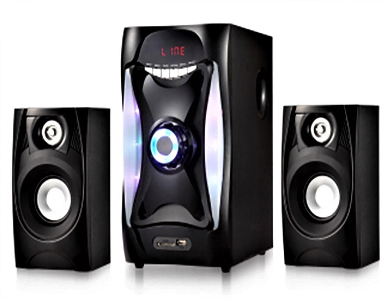Система акустическая 2.1 Era Ear E-112   профессиональная акустическая мощная колонка   домашний кинотеатр