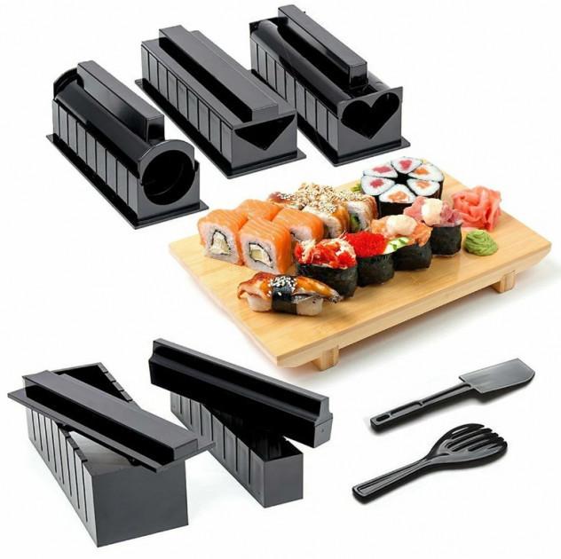 Набір для приготування суші та ролів BRADEX «МІДОРІ» | суші машина | прилад для ролів