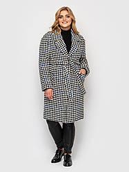 Пальто женское Кира гусиная лапка