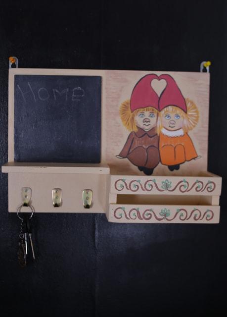 Ключниця настінна Два домовички (469)