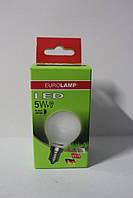Лампа светодиодная EUROLAMP LED G45 5W E14 3000K