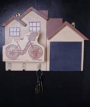 Ключниця настінна Велосипед (470)
