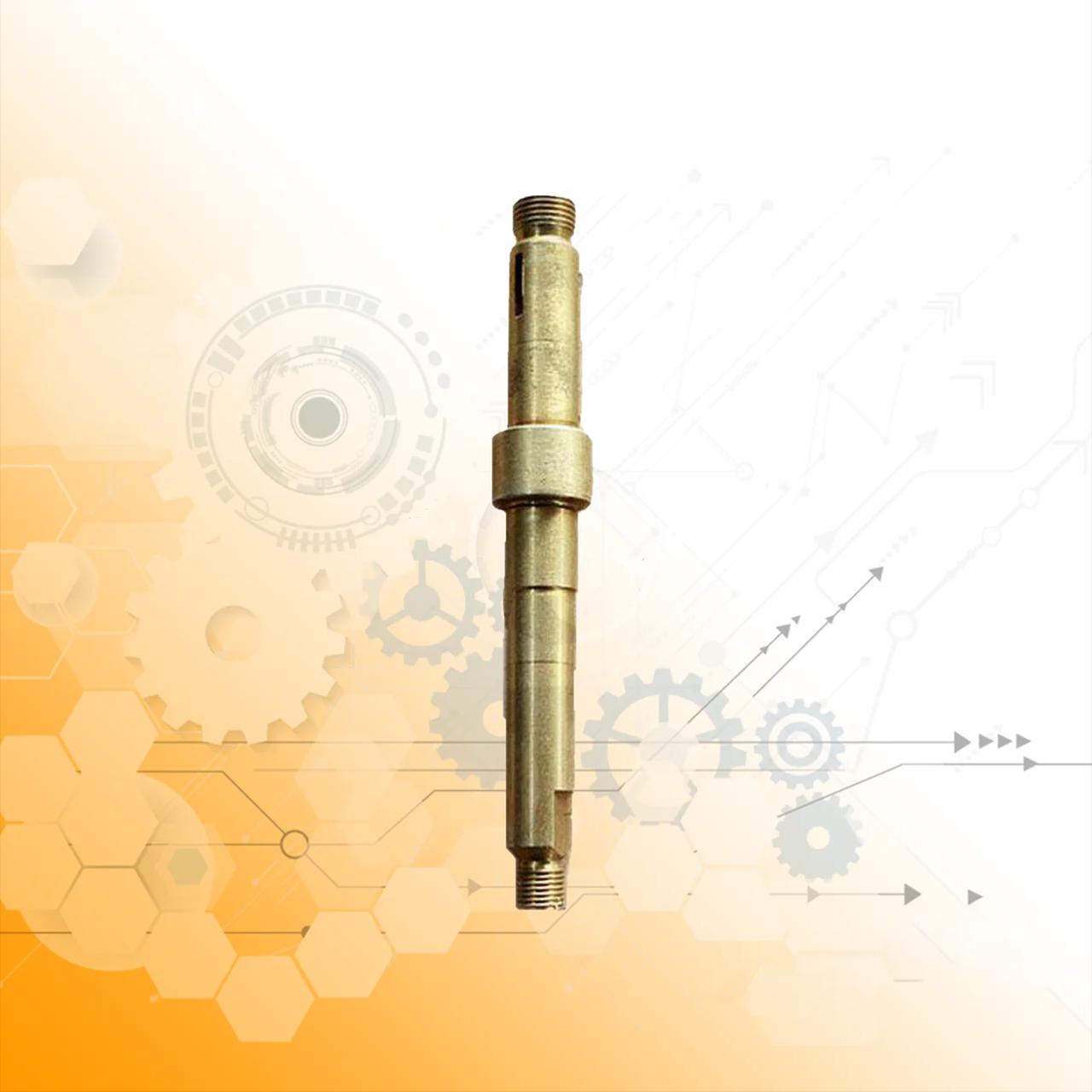 Вал насоса водяного ЯМЗ 236 (ст. обр.) L=155 (пр-во Украина) 236-1307023