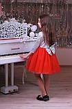 Шикарне ошатне плаття голограма, фото 5