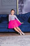 Шикарне ошатне плаття голограма, фото 7