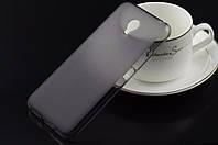 Чехол силиконовый TPU матовый Meizu MX5 серый
