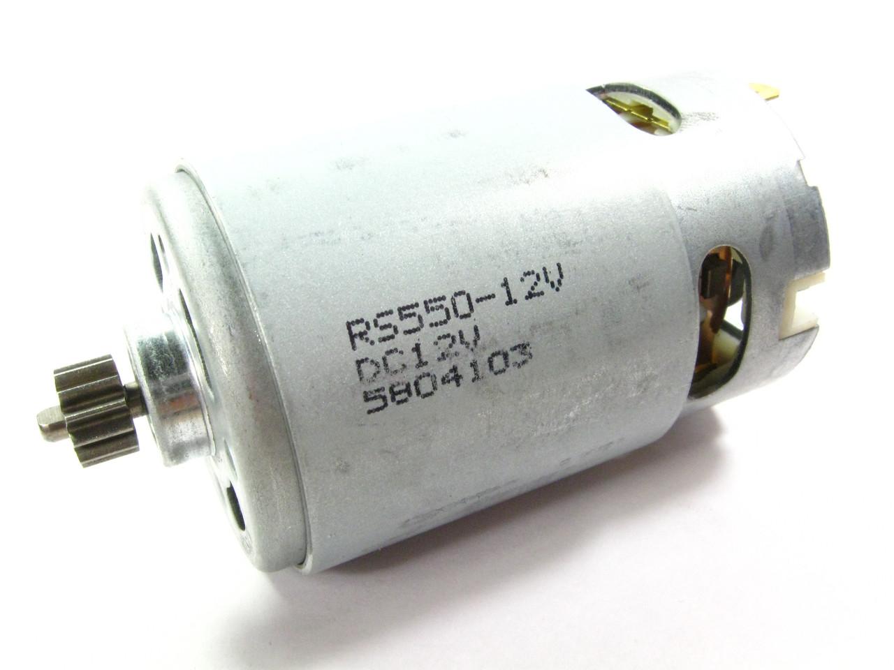 Двигатель аккумуляторного шуруповерта Tekhmann TCD-12 QC Li