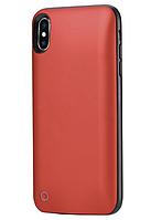 Чехол-аккумулятор WK Design Junen 3400mAh Red для iPhone X/XS
