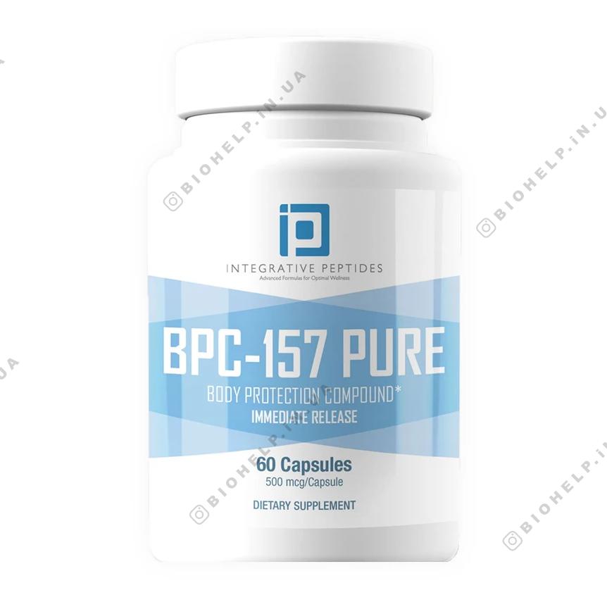 BPC-157 / Пептиды БПС 157 для заживления стенок кишечника 60 капс.