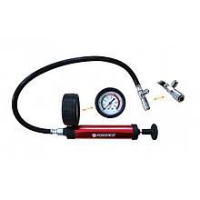 Насос ручний з манометром для тестування герметичності систем охолодження Forsage