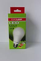 Лампа светодиодная мягкий свет LED A60 12W E27 3000К