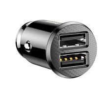 Автомобільний зарядний пристрій TOPK G203 2 порти USB 3.1 A Швидка зарядка для iPhone Xiaomi