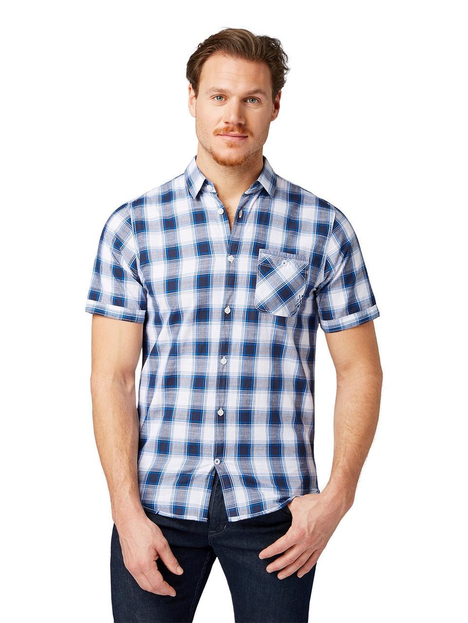 Рубашка Tom Tailor 1008183 S Синий