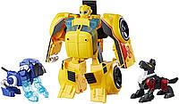 Трансформер Бамблби и питомцы Transformers Rescue Bots Bumblebee Rescue Guard, фото 1