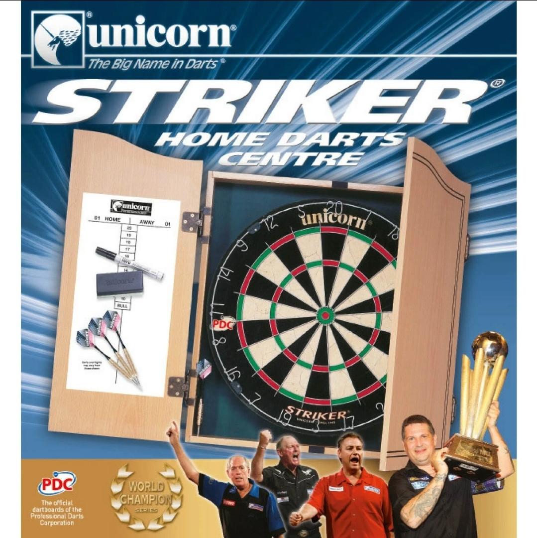 Фирменный набор для игры в дартс Striker Unicorn Англия