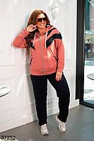 Костюм жіночий прогулочний з двонитки, фото 1