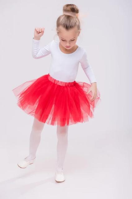 Фатиновая юбка на девочку