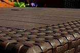 Комплект садовой мебели Allibert by Keter Melody Bali Mono Fiesta Set Brown ( коричневый ), фото 5