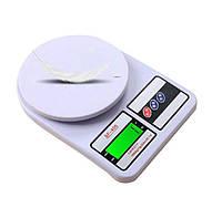 Електронні кухонні ваги Sf-400 до 10 кг з підсвічуванням