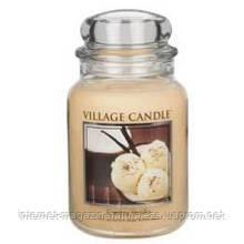 Аромасвеча ТМ Village Candle Сливки с ванилью (время горения 170 часов)