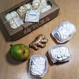 Зефир натуральный на агаре (6 шт. из 2-х половинок) в коробочке. Палитра вкусов на выбор, 200 грамм, фото 2