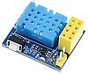 DHT11 модуль термометр и гигрометр датчик влажности и температуры под ESP8266 ESP-01S ESP-01