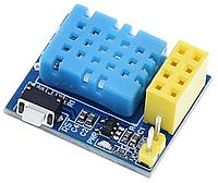 DHT11 модуль термометр и гигрометр датчик влажности и температуры под ESP8266 ESP-01S ESP-01, фото 1