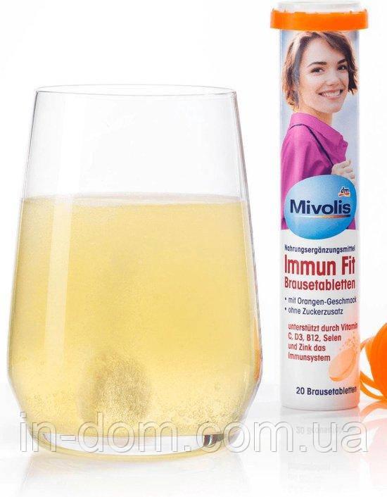 Mivolis Immun Fit Brausetabletten шипучие витамины для иммунной системы 20 шт.