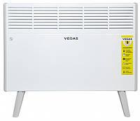 Конвектор Vegas VKPR-1000 напольный (1000 Вт, до 10 м²) обогреватель, тепловентилятор | Гарантия 12 мес