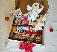 Новогодний детский подарочный набор с ангелом. Оригинальный подарок ребенку на день Святого Николая.