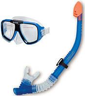 Маска для плавания со стеклянными линзами Intex от 14 лет