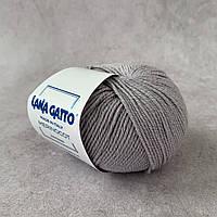 Lana Gatto MERINOCOT № 12504 светло-серый