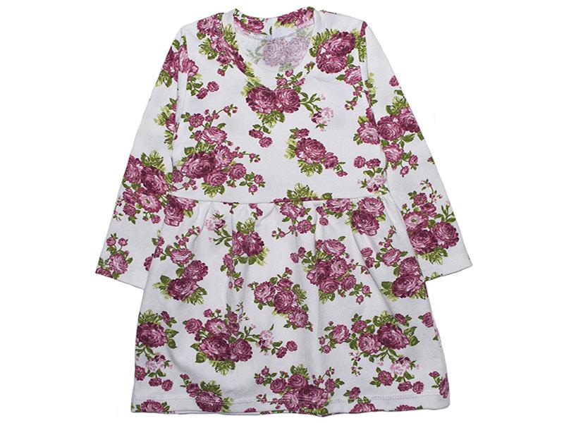 Сукня для дівчинки з довгим рукавом