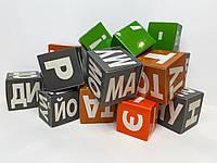 Кубики Зайцева Свена на украинском языке 54х43х6,5 см