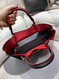 Сумочка в комплекте с клатчем экокожа/качество Люкс арт.2512-1, фото 4