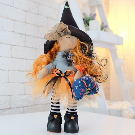 Текстильная куколка Ванда