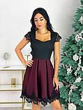 Нарядное платье с кружевом 50-483, фото 2
