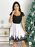 Нарядное платье с кружевом 50-483, фото 3