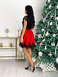 Нарядное платье с кружевом 50-483, фото 8
