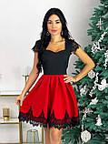 Нарядное платье с кружевом 50-483, фото 4