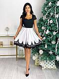 Нарядное платье с кружевом 50-483, фото 7