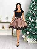 Нарядное платье с кружевом 50-483, фото 5