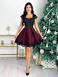 Нарядное платье с кружевом 50-483, фото 6