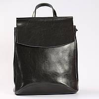 """Женский кожаный рюкзак-сумка (трансформер) """"Анжелика Gray"""", фото 1"""