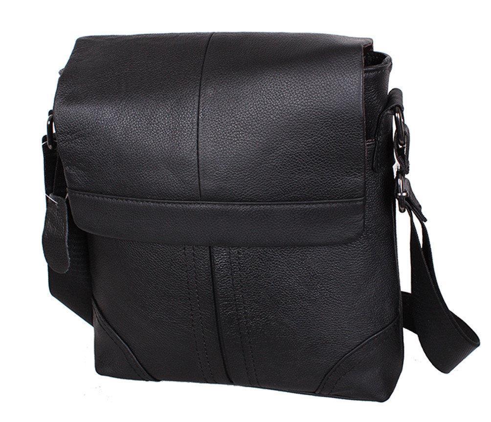 "Кожаная мужская сумка ""Киото 2 Black"""