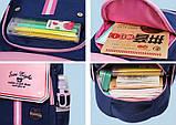 Рюкзак детский школьный ортопедический с пеналом для мальчика первоклассника 7 - 8 - 9 лет, ранец портфель, фото 9