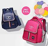 Рюкзак детский школьный ортопедический с пеналом для мальчика первоклассника 7 - 8 - 9 лет, ранец портфель, фото 3
