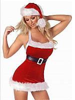 Сексуальный новогодний костюм снегурочки, S-XXL (размеры)